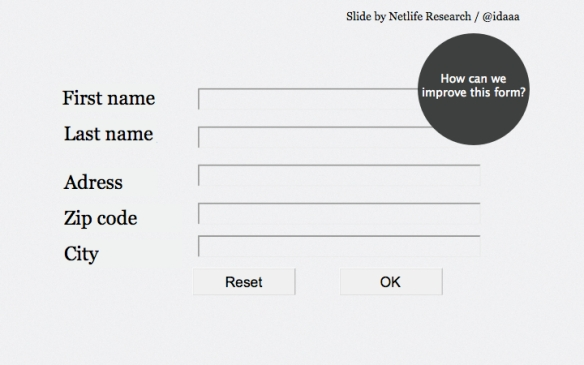 A good looking contact form, but we can improve it